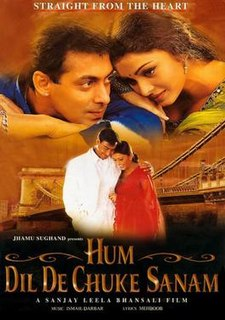 <i>Hum Dil De Chuke Sanam</i> 1999 film by Sanjay Leela Bhansali