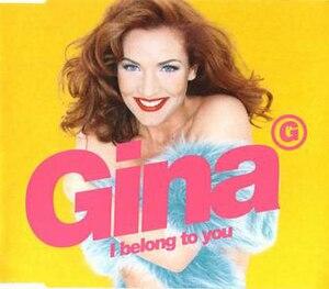 I Belong to You (Gina G song) - Image: I Belong to You (Gina G song)