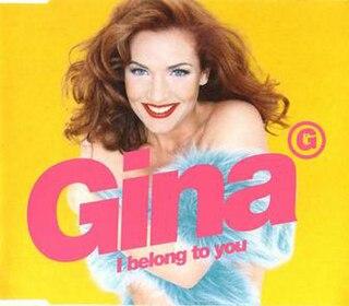 I Belong to You (Gina G song) 1996 single by Gina G