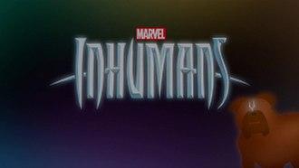 Inhumans (TV series) - Image: Inhumans (TV series) logo