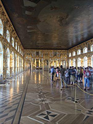 Russia and the American Revolution - Interior of Tsarskoye Selo