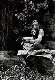 Irv Teibel American field recordist, graphic designer, and photographer