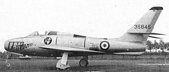 Republic F-84F Thunderstreak - An Italian F-84F