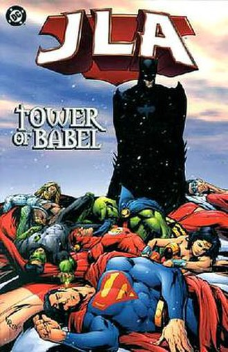 JLA: Tower of Babel - Image: JLA Tower