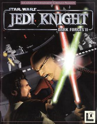 Star Wars Jedi Knight: Dark Forces II - Cover art