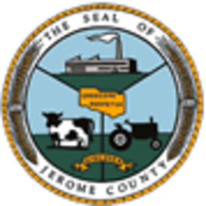Jerome County, Idaho - Image: Jerome County, Idaho seal