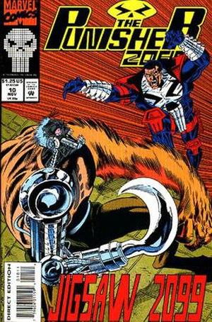 Jigsaw (Marvel Comics) - Image: Jigsaw 2099