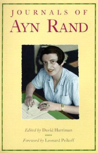 Journals of Ayn Rand - First edition cover