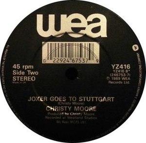 Joxer Goes to Stuttgart - Image: Joxer Goes to Stuttgart record