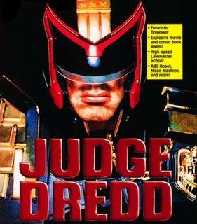 <i>Judge Dredd</i> (1995 video game) 1995 video game