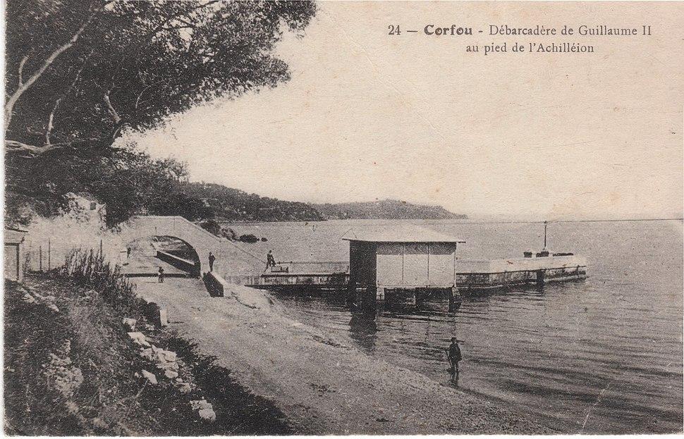 Kaiser's Bridge in Corfu ca. 1918