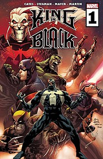 King in Black 2020 Marvel Comics event