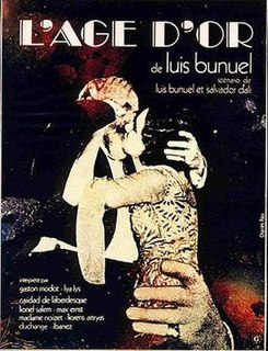 1930 French surrealist comedy film directed by Luis Buñuel