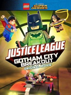 <i>Lego DC Comics Super Heroes: Justice League – Gotham City Breakout</i> 2016 film