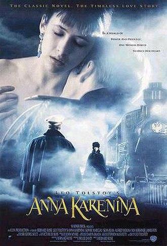 Anna Karenina (1997 film) - Theatrical release poster