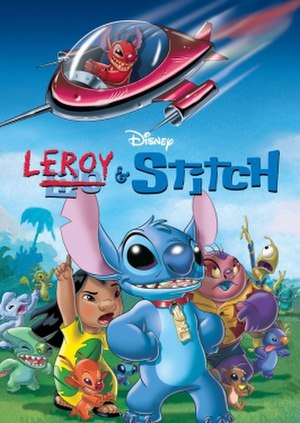 Leroy & Stitch - DVD cover