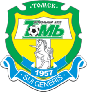 FC Tom Tomsk - Previous logo, used until 2007