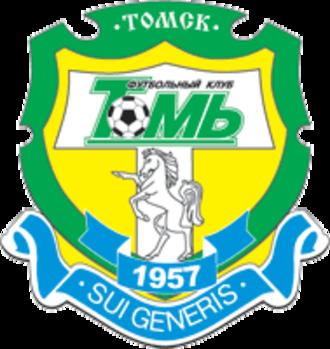 FC Tom Tomsk - Previous logo, used until 2007