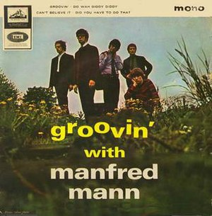 """Groovin' with Manfred Mann - Image: MM's Groovin"""""""