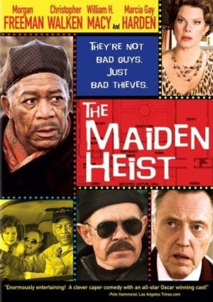 The Maiden Heist - Original cover art