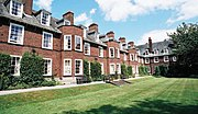 Ashburne Hall is a catered accommodation offered to mainly female undergraduate students, though, some places are reserved for postgraduate students