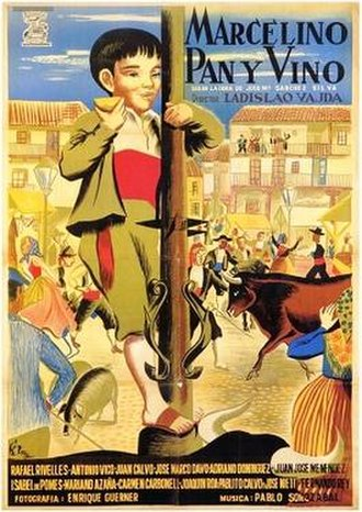 Miracle of Marcelino - Spanish film poster