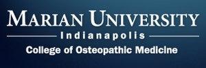 Marian University College of Osteopathic Medicine - Image: Marian University College of Osteopathic Medicine Logo