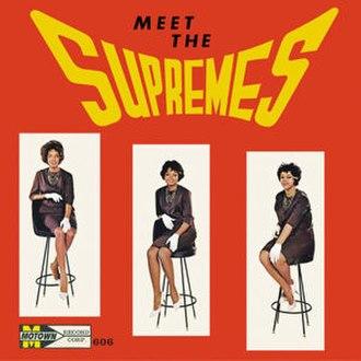 Meet The Supremes - Image: Meet the supremes 1962