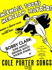 Mexican Hayride (musical) sheet music cover.jpg