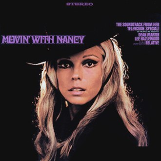 Movin' with Nancy (album) - Image: Movin' With Nancy (album) cover