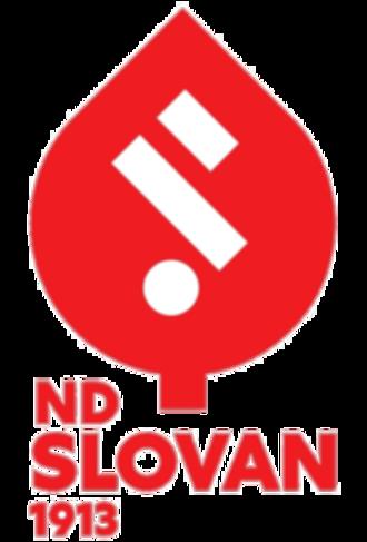 ND Slovan - Club crest