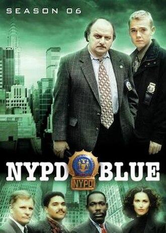 NYPD Blue (season 6) - Season 6 U.S. DVD Cover