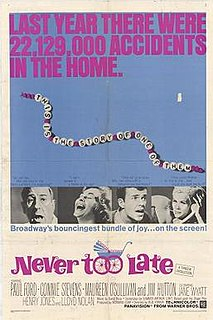 <i>Never Too Late</i> (1965 film)