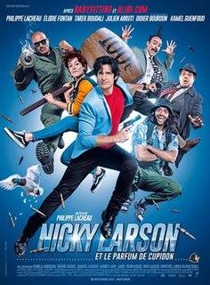 <i>Nicky Larson et le parfum de Cupidon</i> French crime comedy film