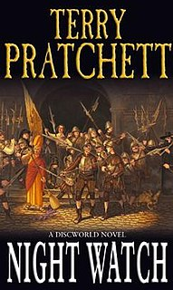 <i>Night Watch</i> (<i>Discworld</i>) novel by Terry Pratchett