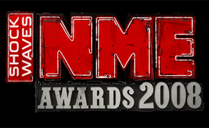 NME Tours - Logo of the 2008 NME Awards Tour.