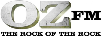 CHOZ-FM - Logo used during its active rock years, 2009-2012