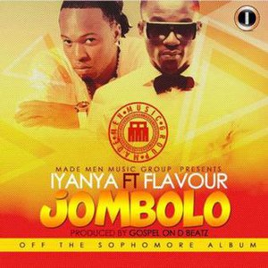 Jombolo - Image: Official Cover for Iyanya's Jombolo Single