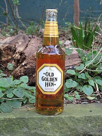 Old Speckled Hen - A bottle of Old Golden Hen