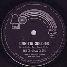 One Tin Soldier Original Caste single cover.jpg