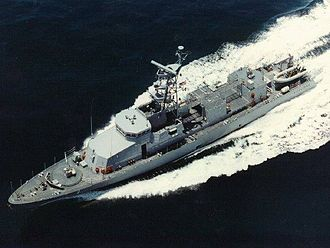BRP General Mariano Alvarez (PS-38) - another photo of USS Cyclone (PC-1)