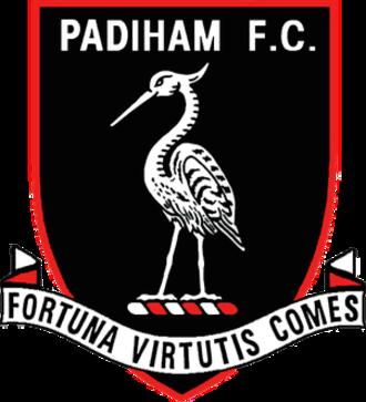 Padiham F.C. - Image: Padiham FC logo