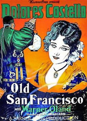 Old San Francisco - theatrical release poster