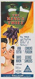 <i>The Kings Thief</i> 1955 adventure film by Robert Z. Leonard