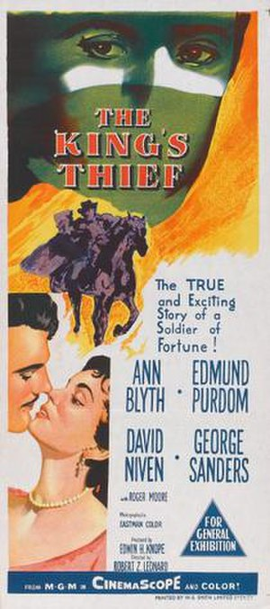 The King's Thief - Image: Poster of the movie The King's Thief