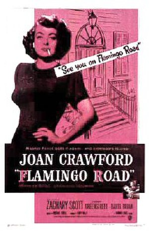 Flamingo Road (film) - Theatrical release poster