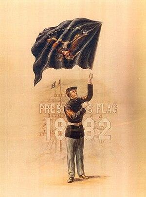 Edward C. Kuhn - Image: Presidents Flag 1882