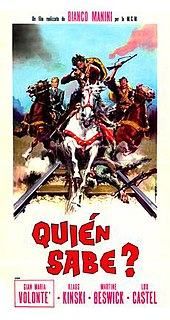 <i>A Bullet for the General</i> 1966 Italian film directed by Damiano Damiani