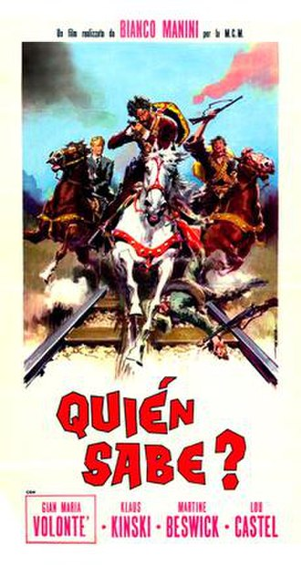 A Bullet for the General - Image: Quien Sabe Database Page