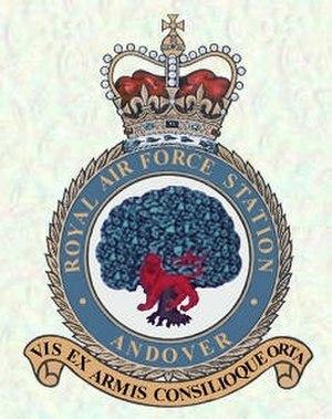 RAF Andover - RAF Andover Crest